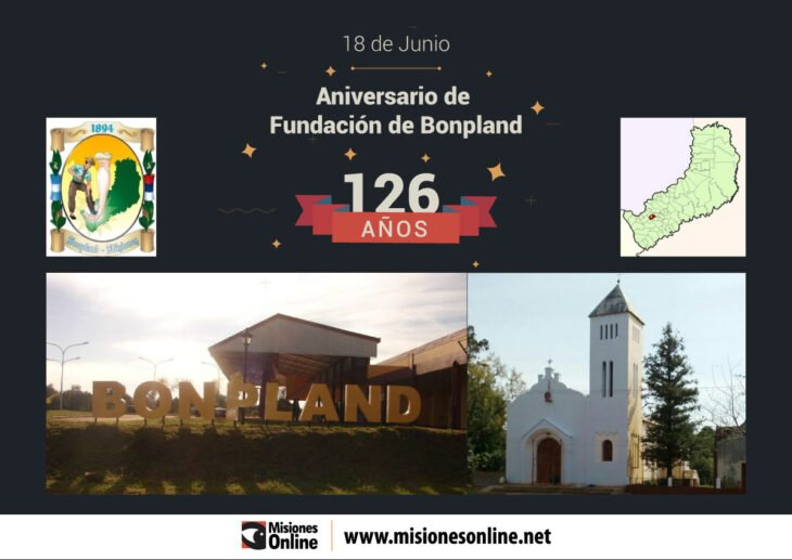 La localidad de Bonpland celebra hoy el 126° Aniversario de su fundación