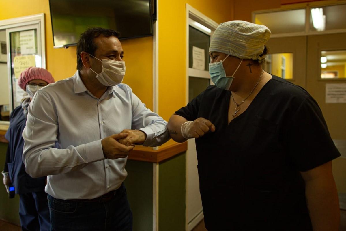"""Coronavirus: """"El fortalecimiento del sistema sanitario es nuestra prioridad"""", indicó Herrera Ahuad"""