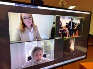 Coronavirus: el Consejo de la Magistratura de Misiones tomó exámenes virtuales a 13 profesionales