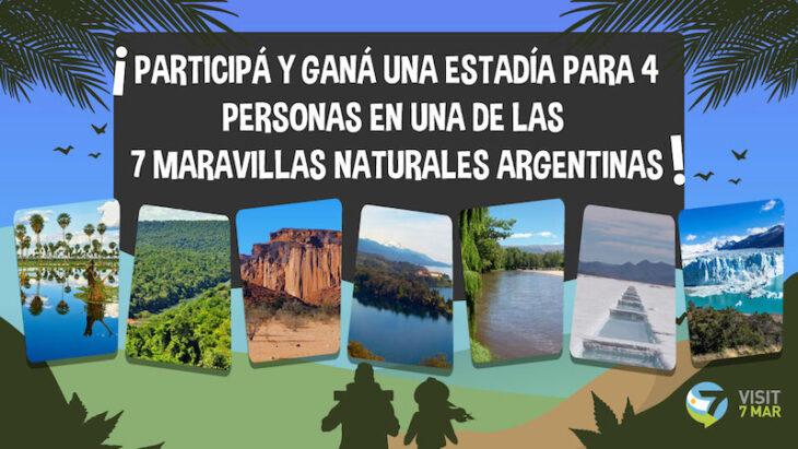 Participá del Concurso para conocer una de las 7 Maravillas Naturales Argentinas: 7 estadías para 4 personas te están esperando