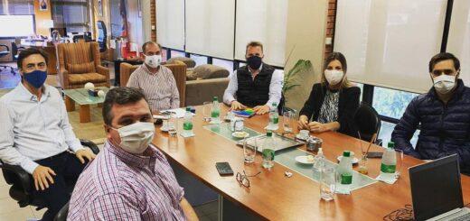Coronavirus: integrantes de la Cámara de Comercio de Posadas se reunieron con el intendente Leonardo Stelatto