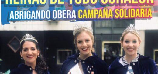 Reina y princesas de la Fiesta del Inmigrante se unen para ayudar al Hogar de Día de Oberá