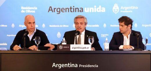 El presidente anunciará el lunes si el área metropolitana de Buenos Aires regresa o no a la fase 1 de la cuarentena