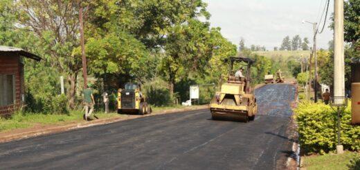 Finalizaron obra de asfalto en San Isidro de Posadas