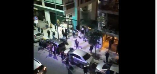 Coronavirus: en Buenos Aires, vecinos del barrio Recoleta violaron la cuarentena para bailar en la calle