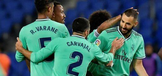 Real Madrid ganó y alcanzó al Barcelona en el primer lugar de la liga de España