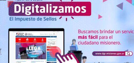 Misiones avanza hacia la digitalización del sellado de rentas