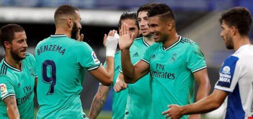 Liga de España: Real Madrid ganó y le arrebató la punta al Barcelona