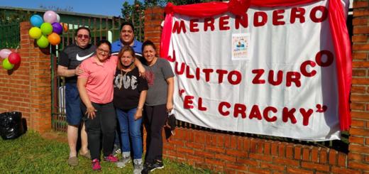 Cuando el dolor se transforma en amor:la familia del profesor Julio Zurco inauguró un merendero en su honor en Candelaria