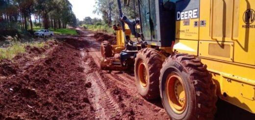 Vialidad Provincial repara más de 120 kilómetros de rutas terradas en el norte de Misiones