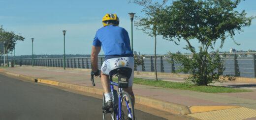 Con horario restringido y el uso de barbijo, Posadas habilitó la práctica del running y salidas recreativas en bicicleta