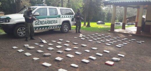 Eldorado: Gendarmes hallan 92 kilos de marihuana mientras realizaban un patrullaje a pie