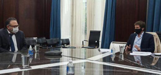 El Ministro de Desarrollo Productivo, Matías Kulfas recibió al Director Ejecutivo de la EBY