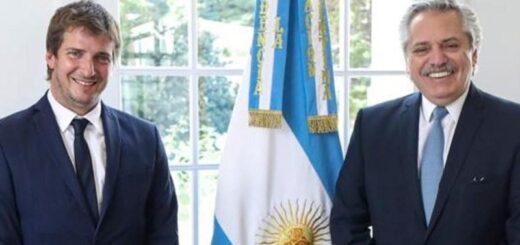 El Presidente de la Nación recibió a Ignacio Barrios Arrechea, el nuevo Director Ejecutivo de la EBY