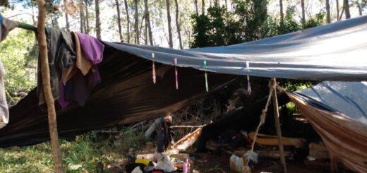Trabajadores tareferos y un menor de edad eran maltratados en un campamento de Andresito