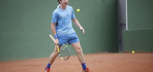 """Ezequiel Monferrer: """"Quiero sumar muchos puntos cuando vuelvan los torneos para ingresar a los Grand Slam del año que viene"""","""