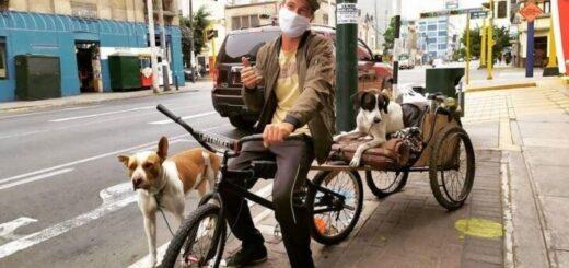 Coronavirus: un misionero varado en Perú se negó a ser repatriado sin sus dos perros