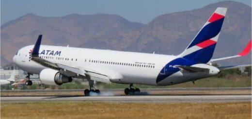 Latam anunció que dejará de operar vuelos de cabotaje en Argentina