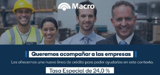 Banco Macro es líder en créditos para pymes y transformación digital