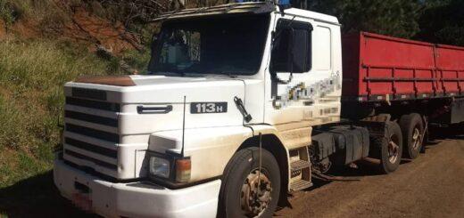 """Un camionero brasileño llevaba más de un millón de pesos """"en negro"""""""