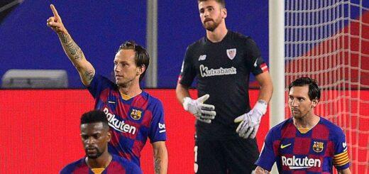 Barcelona venció a Athletic, es único líder y Messi no pudo llegar al gol 700