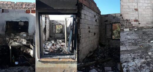 """Una familia de Santa Ana se quedó con lo puesto luego de incendio: """"No tenemos absolutamente nada"""", relató la víctima"""