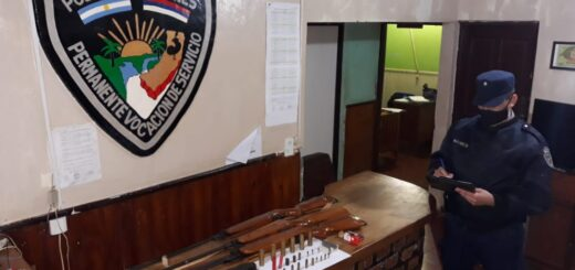 Armado con rifles atemorizaba a los vecinos de un paraje de Aristóbulo del Valle