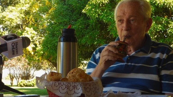 """Coronavirus: en Misiones, a los 93 años, """"Pancho"""" Szychowski, el dueño de la yerba mate """"Amanda"""" superó el covid 19 tras semanas de internación"""