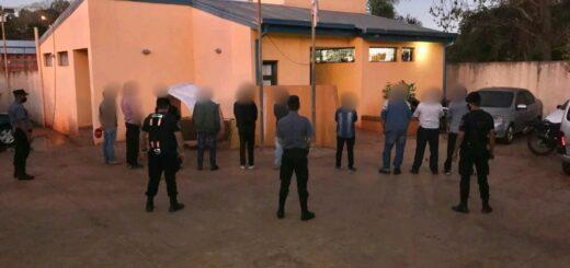San Pedro: realizaban una riña de gallos y fueron detenidos