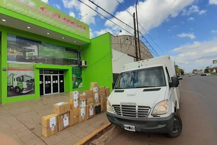 Decomisan en Misiones 7.000 paquetes de cigarrillos extranjeros
