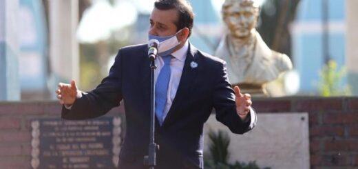 Día de la Bandera: Herrera Ahuad reivindicó el rol de  Misiones en la historia de la patria