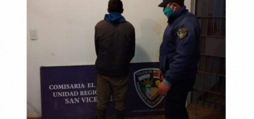 Dos violentos detenidos por amenazar a sus parejas en Misiones