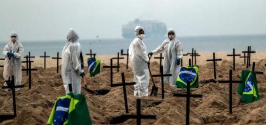 Coronavirus: Brasil llegó al millón de casos positivos confirmados