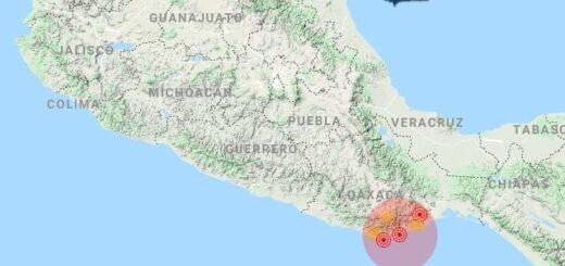 Se registró un fuerte sismo de 7.5 grados en México y activan alerta de tsunami para la región de Guatemala, El Salvador y Honduras