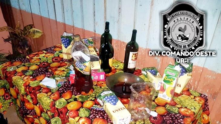 """Posadas: participaban de una fiesta clandestina en medio de la cuarentena y """"les cayó"""" la Policía"""