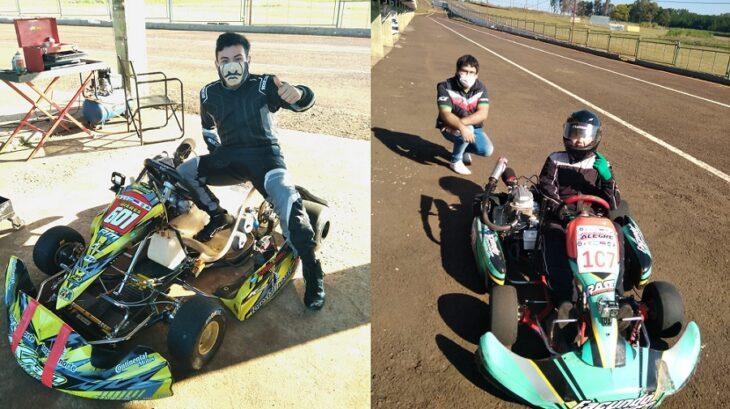 Coronavirus:los karting tuvieron actividad durante el feriado en el Kartódromo de Posadas
