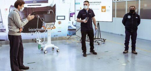 Presentaron el primer respirador artificial fabricado en Tierra del Fuego