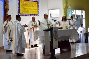 En la Solemnidad del Sagrado Corazón se celebró la Misa Crismal