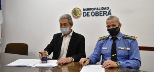 Convenio entre el Gobierno de la Ciudad de Oberá y el Servicio Penitenciario