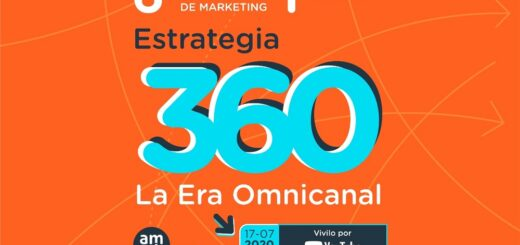 """Se viene el VI Congreso Regional de Marketing (I Congreso Virtual) """"Estrategia 360 – La Era Omnicanal"""""""