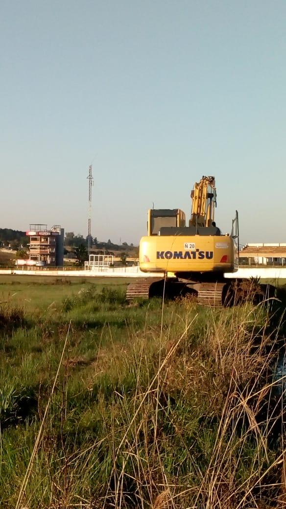 Coronavirus: se realizan obras de mantenimiento en el Autódromo Rosamonte