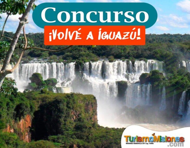 """Hasta el 14 de julio estás a tiempo de participar en el Concurso """"Volvé a Iguazú!"""", para ganar una estadía y disfrutarla cuando haya finalizado la cuarentena"""