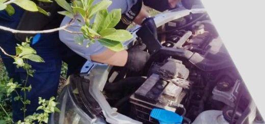 Un auto robado en Brasil fue incautado en Misiones con casi 200 kilos de droga