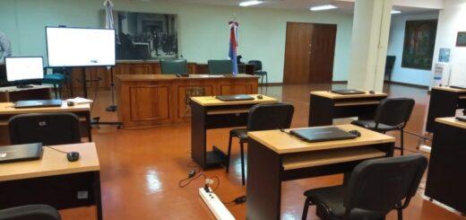 Primer examen para cubrir cargos judiciales en tiempos de pandemia
