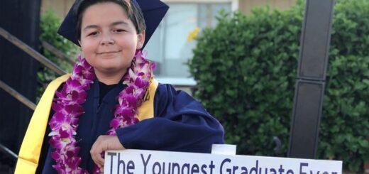 Tiene 13 años y ya se graduó de cuatro tecnicaturas universitarias