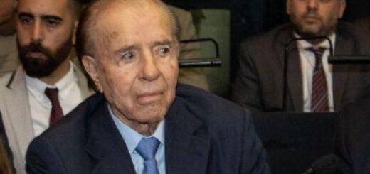 Ayer internaron de urgencia al expresidente Menem con poblemas respiratorios sin embargo no tiene coronavirus