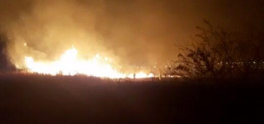 Se incendia un pastizal en inmediaciones del Aeropuerto de Posadas