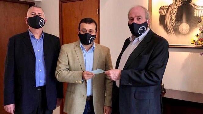 Coronavirus: la CESANE donó una importante suma de dinero para el Gobierno de la provincia de Misiones