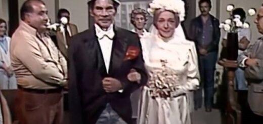 """Filtran en redes sociales un capítulo inédito del """"Chavo del 8"""": el casamiento de Don Ramón y la Bruja del 71"""