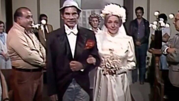 Filtran en redes sociales un capítulo inédito del «Chavo del 8»: el casamiento de Don Ramón y la Bruja del 71